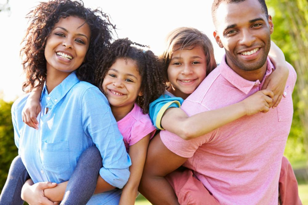 Family Dentistry in Fontana | Smiling Family