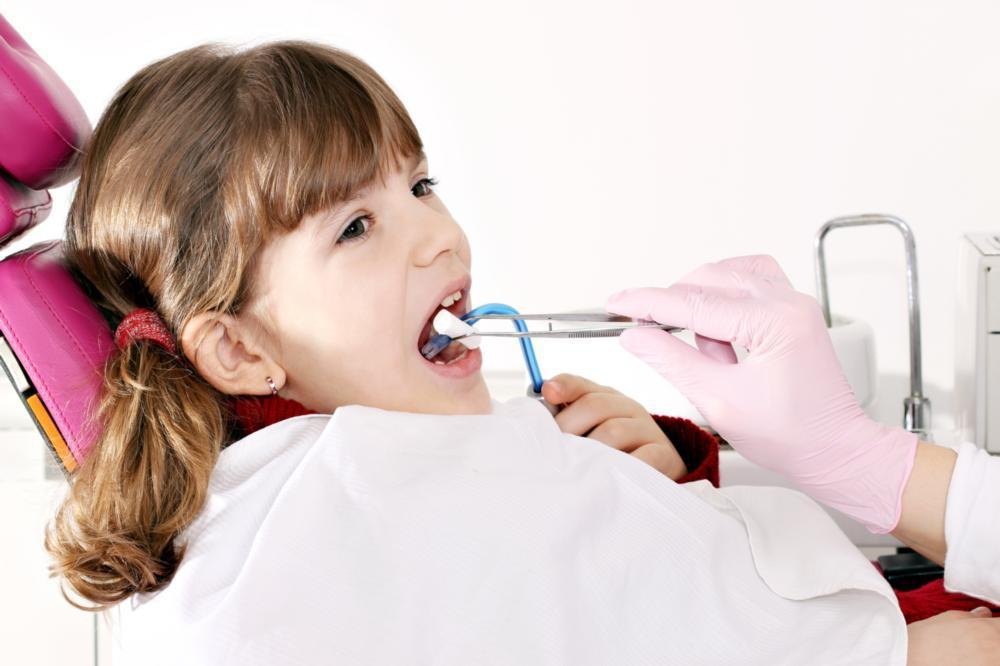 Child in dental chair | Fontana CA Children's Dentistry