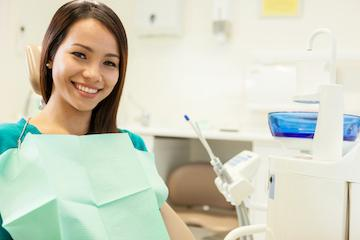 Dental Exams in Fontana CA | Woman in Dental Chair