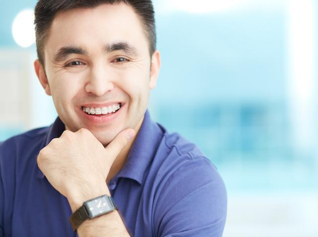 man with braces | Orthodontics Fontana CA