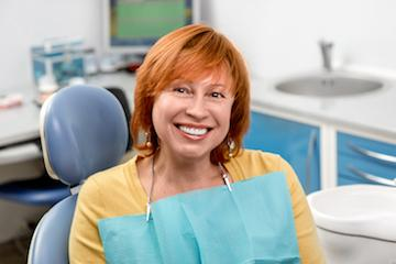 Dental Cleanings in Fontana | Woman in Dental Chair