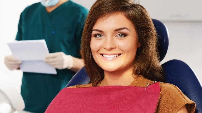 Patient undergoing sedation dentistry in Fontana, CA