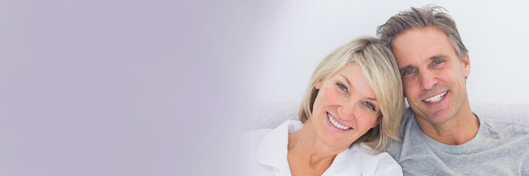 Man and woman smiling | Fontana CA Dental Implants